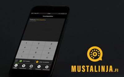 Mobiilivaihde Mustalinjan iOS-sovellus päivittyi uuteen versioon