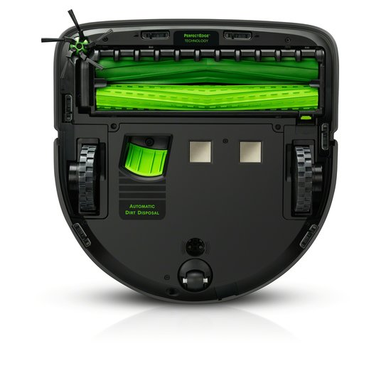 Roomba s9+ pohjasta